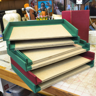 Hard cover binding