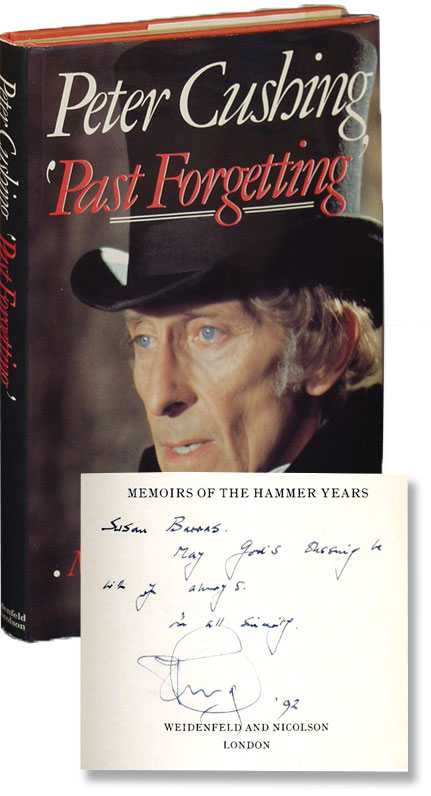 Past Forgetting: Memoirs of the Hammer Years. Peter Cushing.
