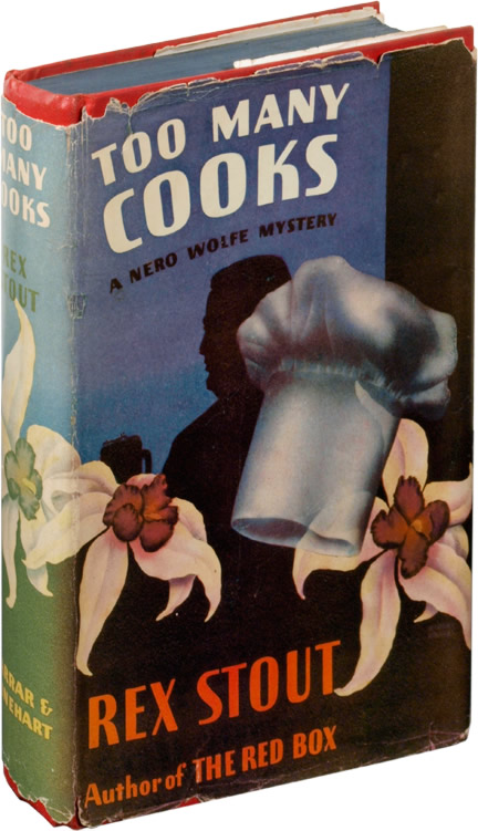 Too Many Cooks. Rex Stout.
