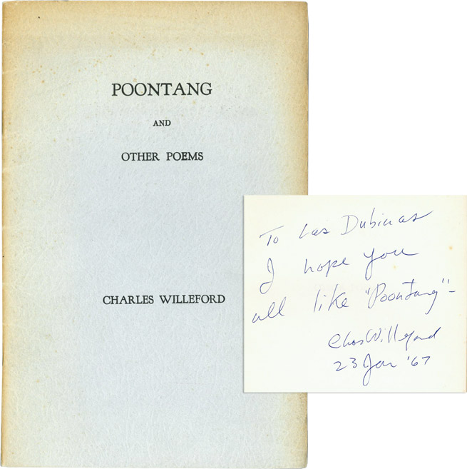 Poontang. Charles Willeford.