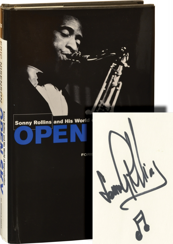 Open Sky: Sonny Rollins and His World of Improvisation. Sonny Rollins, foreword, Eric Nisenson, author.