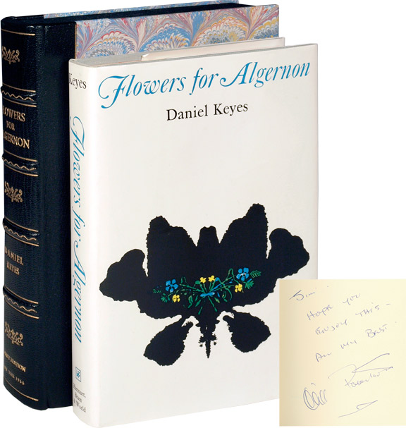 flowers for algernon daniel keyes first edition full size image