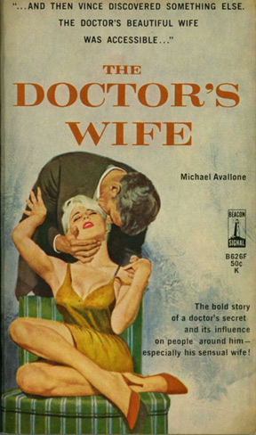 The Doctor's Wife. Michael Avallone.