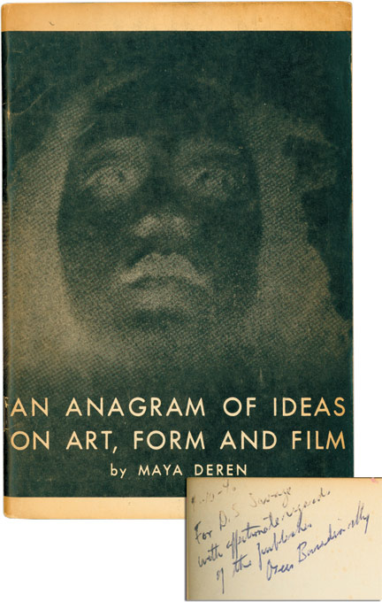 An Anagram of Ideas on Art, Form and Film. Maya Deren.