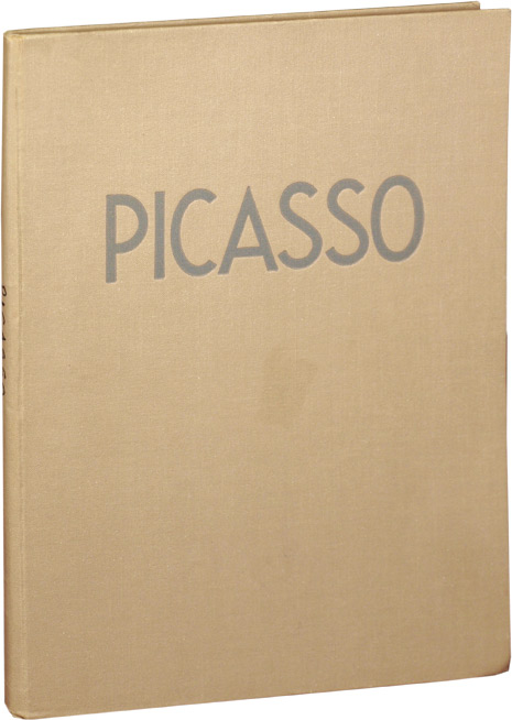 Paintings and Drawings of Picasso. Picasso, Sabartes Jaime, critical survey.