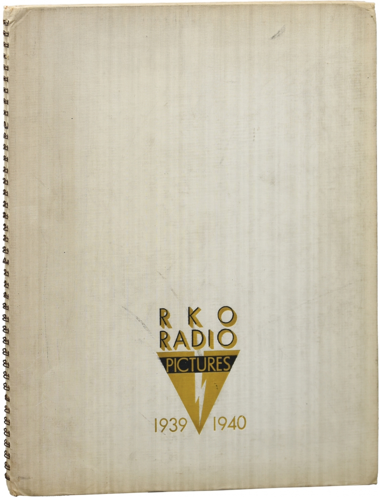 RKO Radio Pictures 1939-1940 Annual. Film Studio Annuals.
