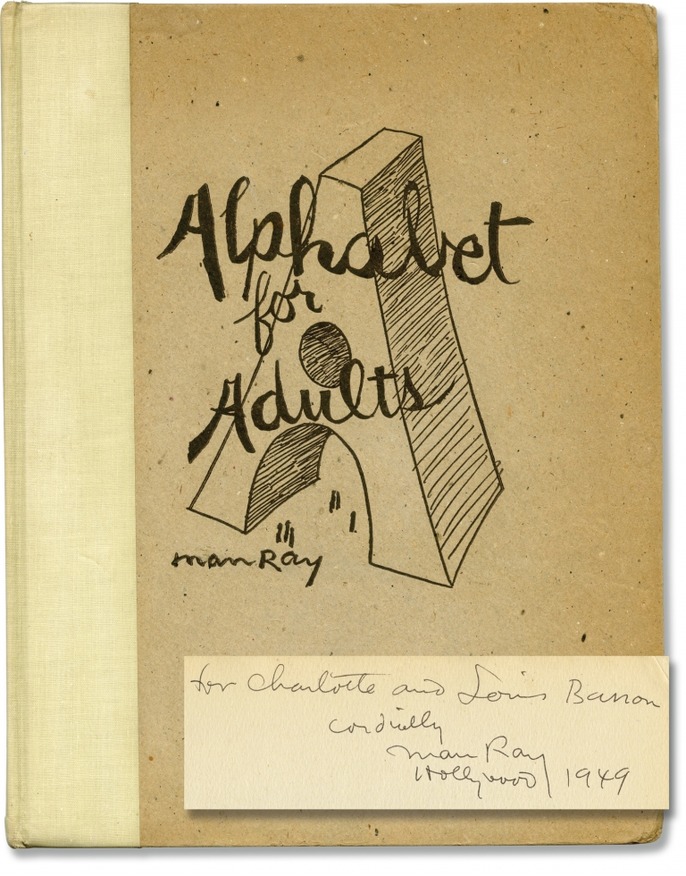 Alphabet for Adults. Man Ray.