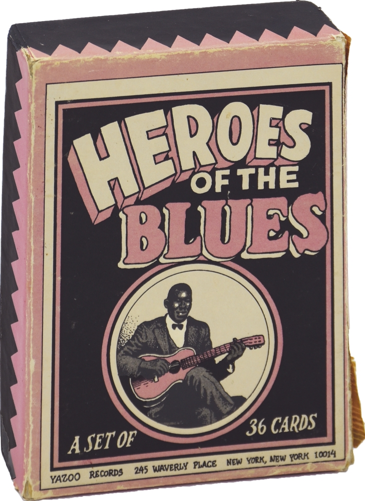 Heroes of the Blues Playing Card Set. R. Crumb.