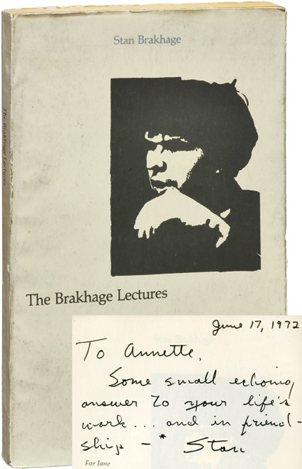 The Brakhage Lectures: George Melies, David Wark Griffith, Carl Theodore Dreyer, Sergei Eisenstein. Stan Brakhage.
