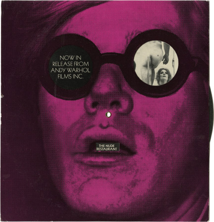 Now in Release from Andy Warhol Films, Inc. Andy Warhol, director.