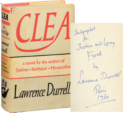 Clea. Lawrence Durrell.