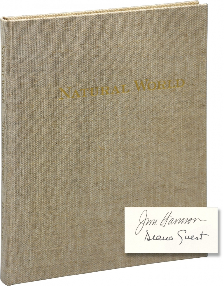 Natural World: A Bestiary. Jim Harrison, Diana Guest.