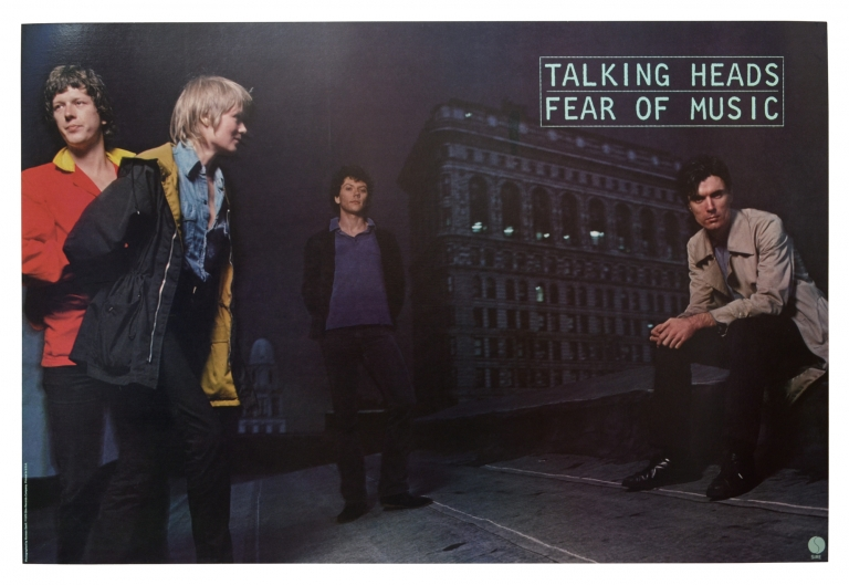 Fear of Music. The Talking Heads.