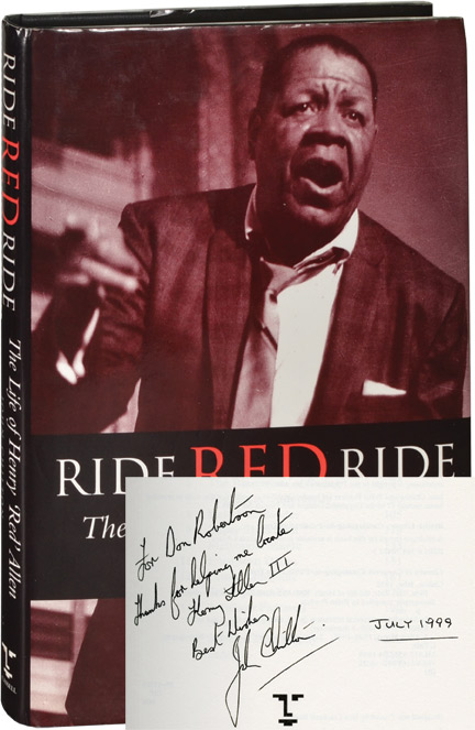 "Ride, Red, Ride. Henry ""Red"" Allen, John Chilton, Brian Peerless, discography."
