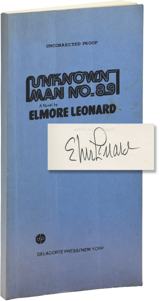 Unknown Man No. 89. Elmore Leonard.