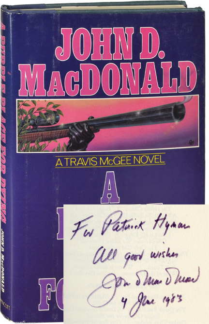 A Purple Place for Dying. John D. MacDonald.