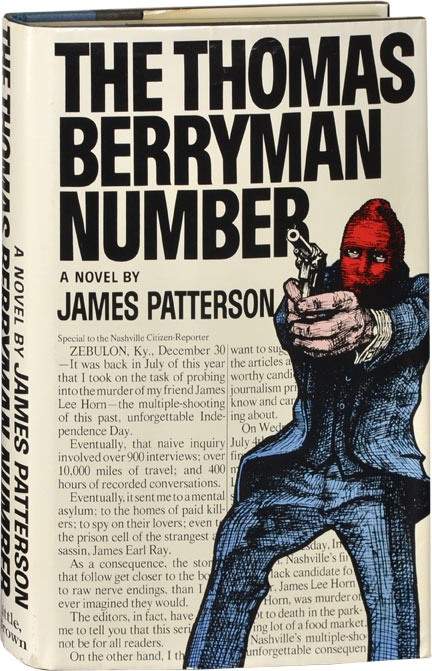 The Thomas Berryman Number. James Patterson.