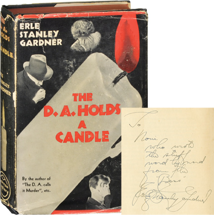 The D.A. Holds a Candle. Erle Stanley Gardner.