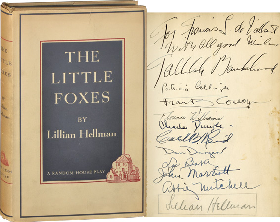 The Little Foxes. Lillian Hellman.