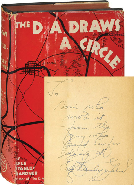 The D.A. Draws a Circle. Erle Stanley Gardner.