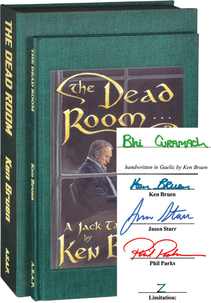 The Dead Room. Ken Bruen.