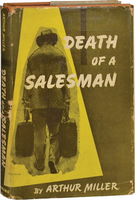 literary analysis of the book death of a salesman by arthur miller Death of a salesman is a 1949 play written by american playwright arthur miller it was the recipient of the 1949 pulitzer prize for drama and tony award for best play  the play premiered on broadway in february 1949, running for 742 performances, and has been revived on broadway four times, [1] winning three tony awards for best revival.