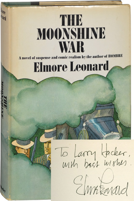 The Moonshine War. Elmore Leonard.