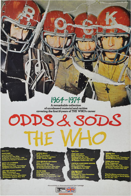 Odds and Sods. The Who.