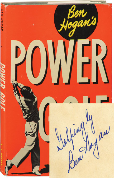 Power Golf. Ben Hogan.