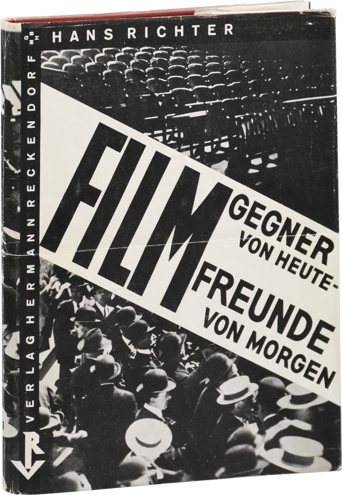 Film: Gegner von Heute - Freunde von Morgen [Enemy of Film Today - Friend of Film Tomorrow]. Hans Richter.