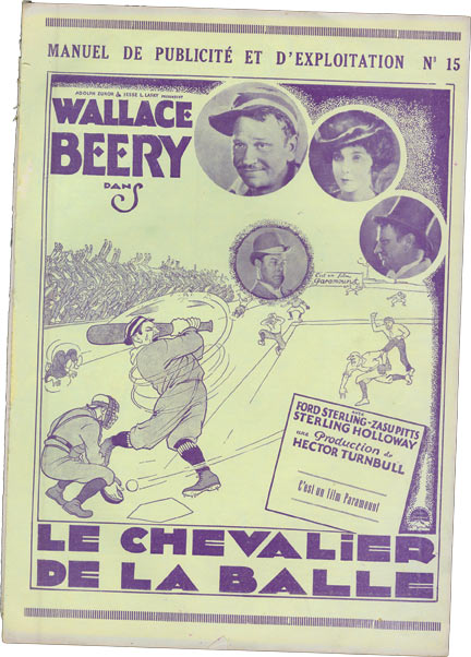 Casey at the Bat [Le Chavlier de la balle] & Rough House Rosie [Un direct au coeur]. starring, Clara Bow, Wallace Beery.