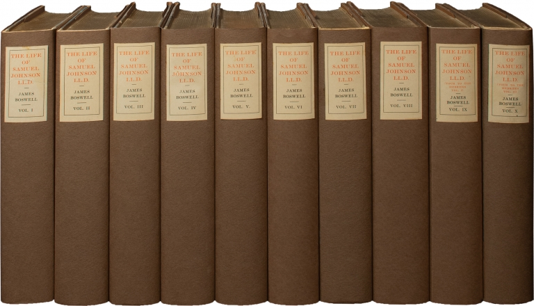 Boswell's Life of Dr. Johnson, and Journal of a Tour to the Hebrides [The Life of Samuel Johnson]. Samuel Johnson, James Boswell, Clement Shorter, Augustine Birrell Aleyn Lyell Reade, Professor Trent, introduction, introductions.