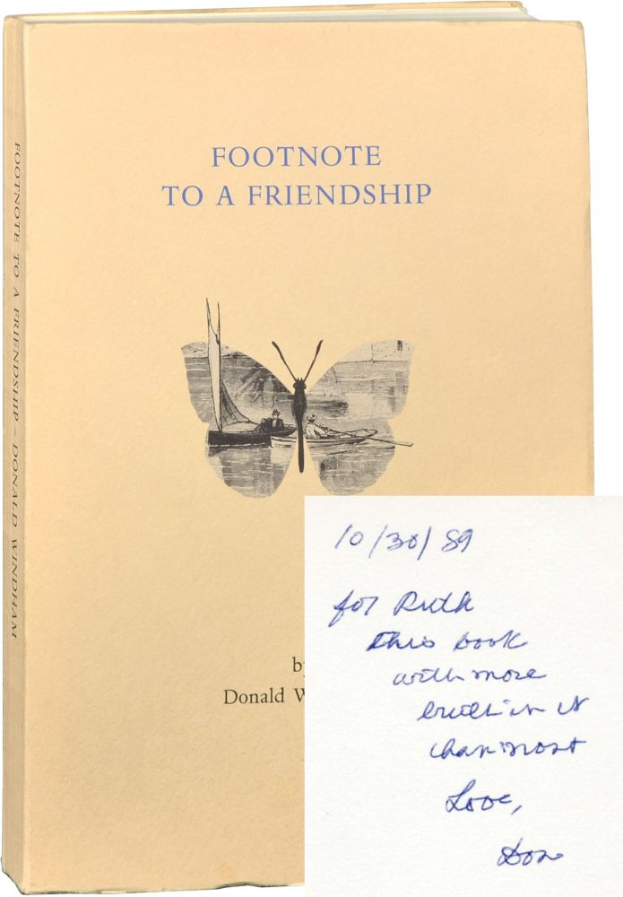 Footnote to a Friendship. Ruth Ford, Truman Capote, Donald Windham.