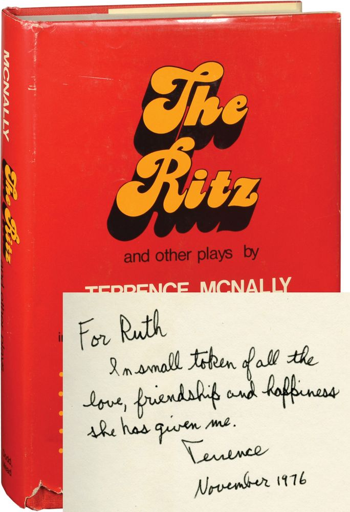 The Ritz and Other Plays. Ruth Ford, Terrence McNally.