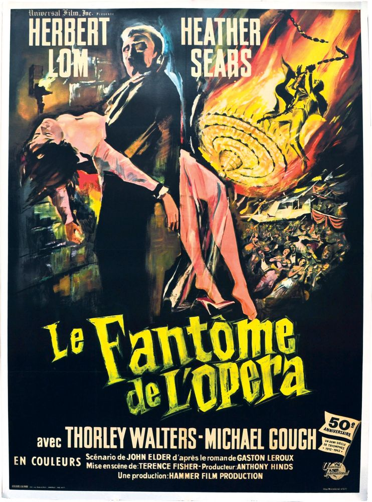The Phantom of the Opera [Le Fantome de L'Opera]. Terence Fisher, director.