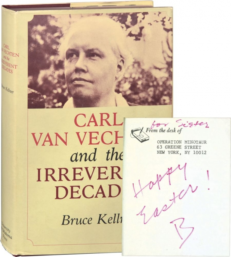 Carl Van Vechten and the Irreverent Decades. Ruth Ford, Bruce Kellner.