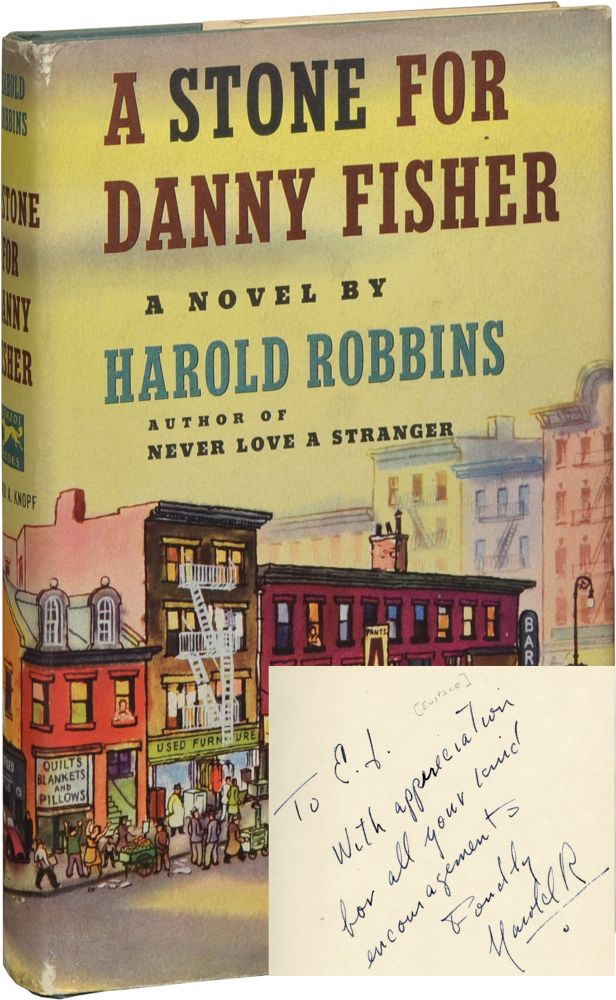 A Stone for Danny Fisher. Harold Robbins.