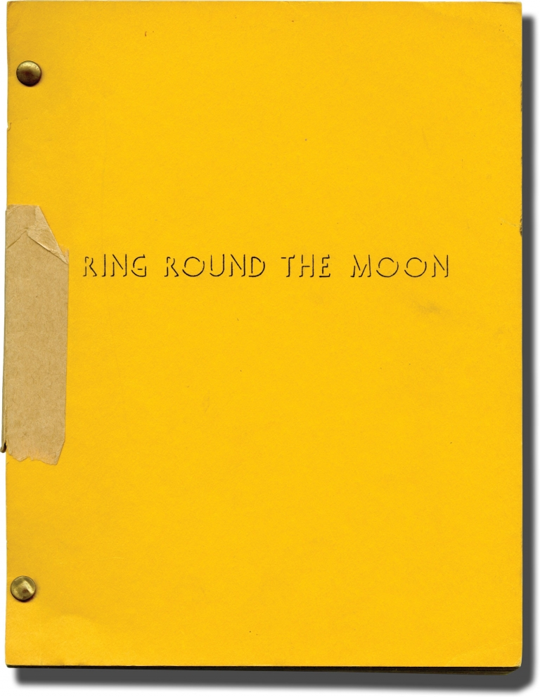 Ring Round the Moon. Jean Anouih, Christopher Fry, playwrights.