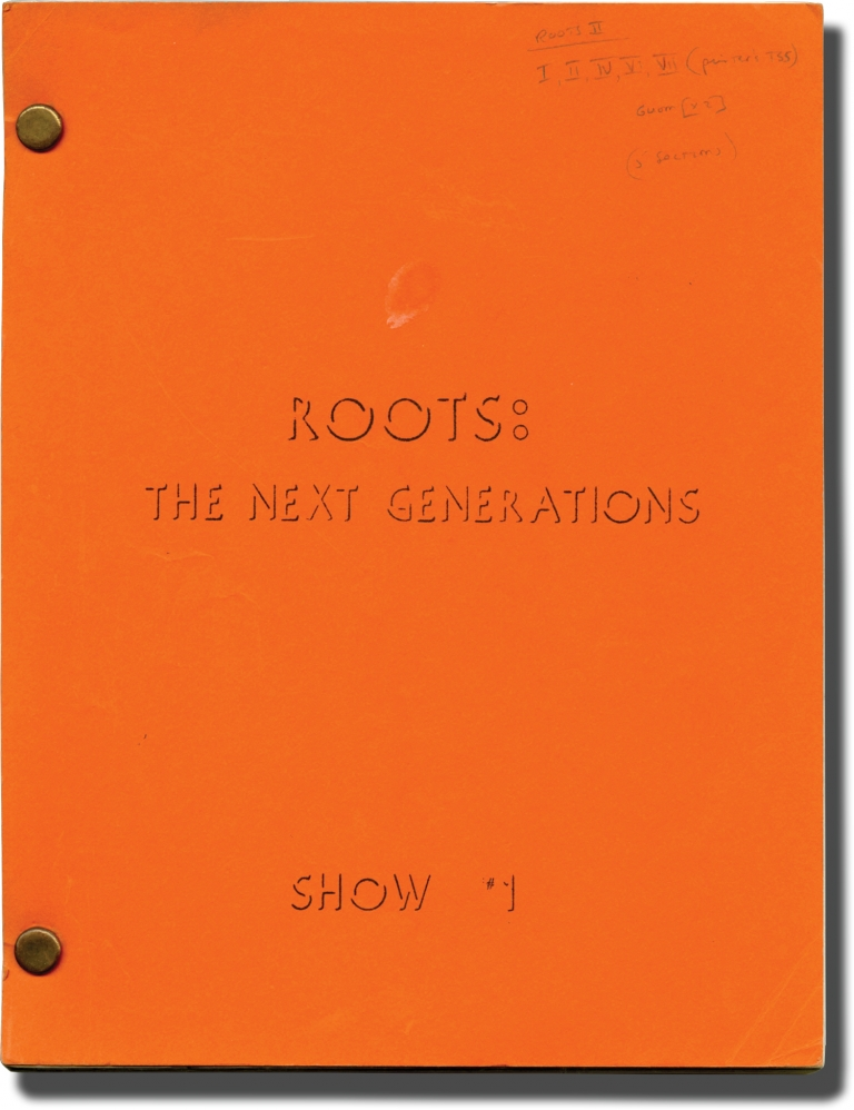 Roots: The Next Generations: Episode 1. Charles S. Dubin, Alex Haley, Ernest Kinoy, Olivia de Havilland Georg Stanford Brown, Paul Koslo, Henry Fonda, director, novel, screenwriter, starring.