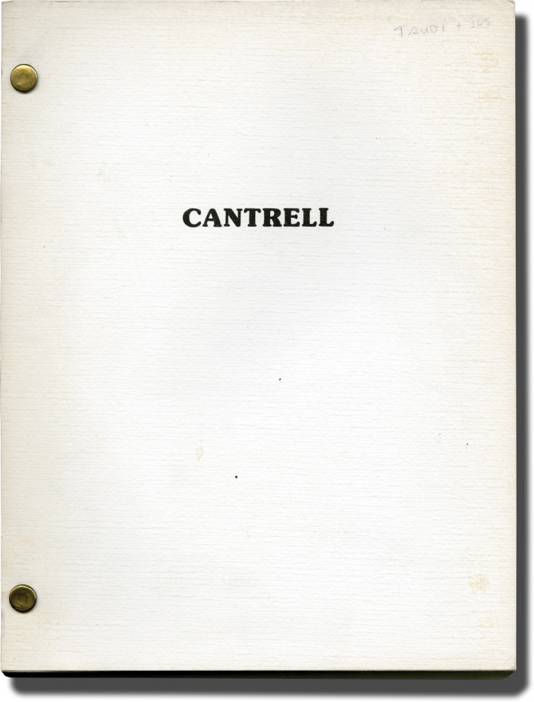 Cantrell. Larry McMurtry, screenwriter.