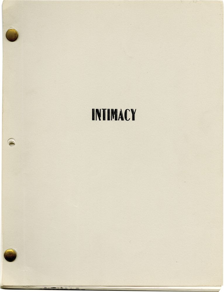 """Intimacy: """"There's No Place Like Home"""" Harvey Miller, screenwriter."""