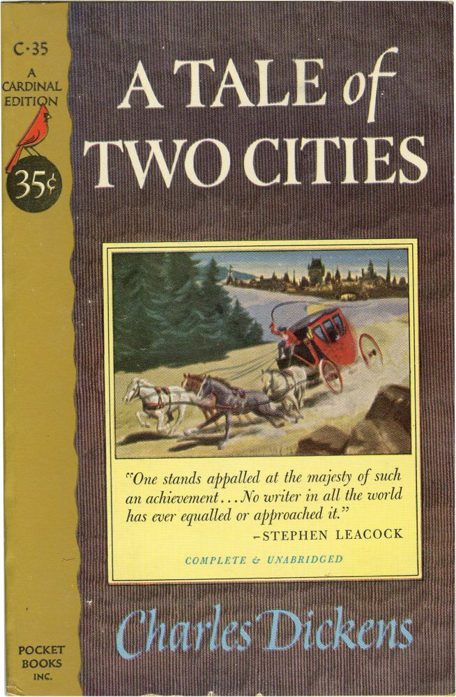 A Tale of Two Cities. Charles Dickens.