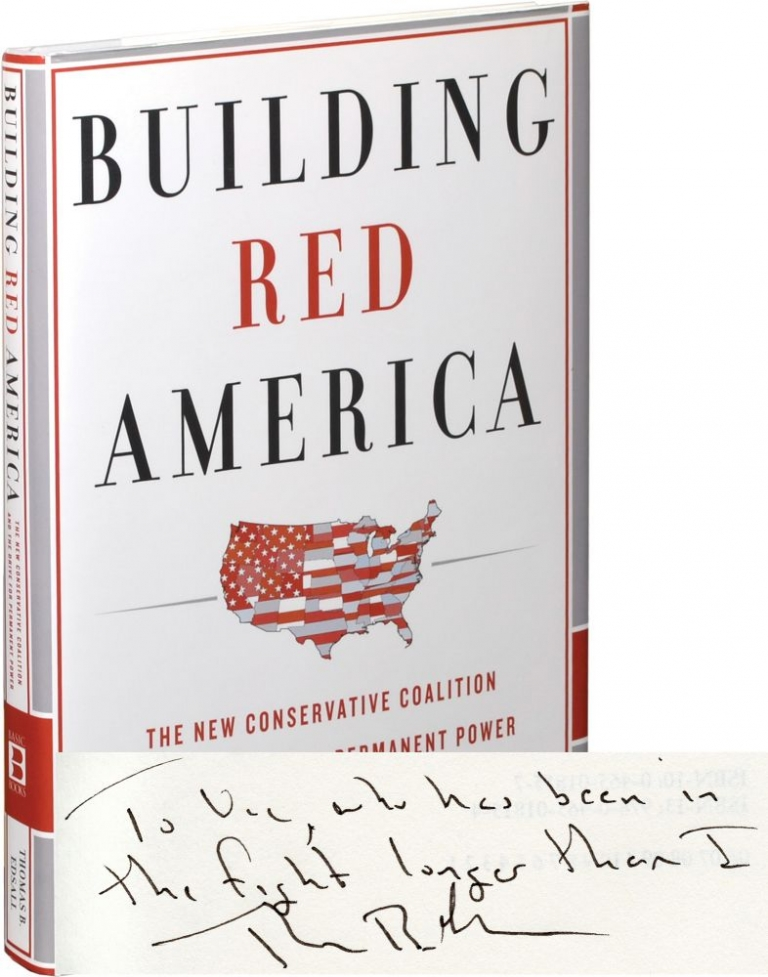 Building Red America: The New Conservative Coalition and the Drive for Permanent Power. Thomas B. Edsall.
