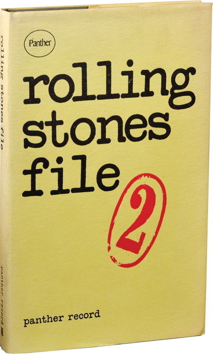 Rolling Stones File [Panther Record Number Two]. The Rolling Stones, Tim Hewat.