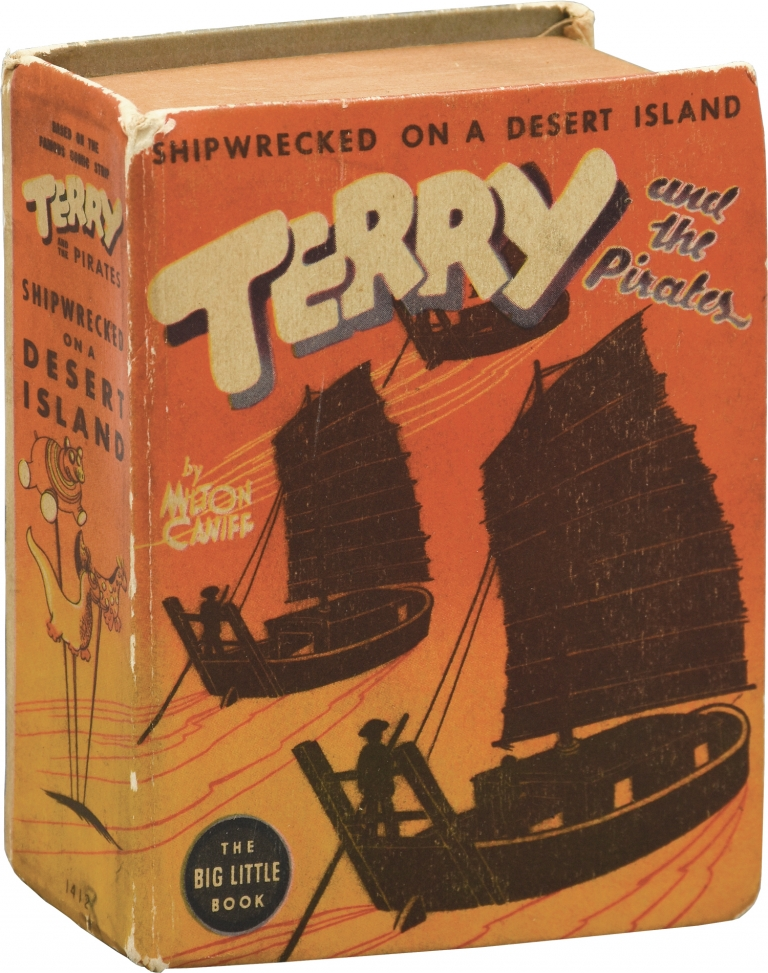 Terry and the Pirates: Shipwrecked on a Desert Island. Milton Caniff.