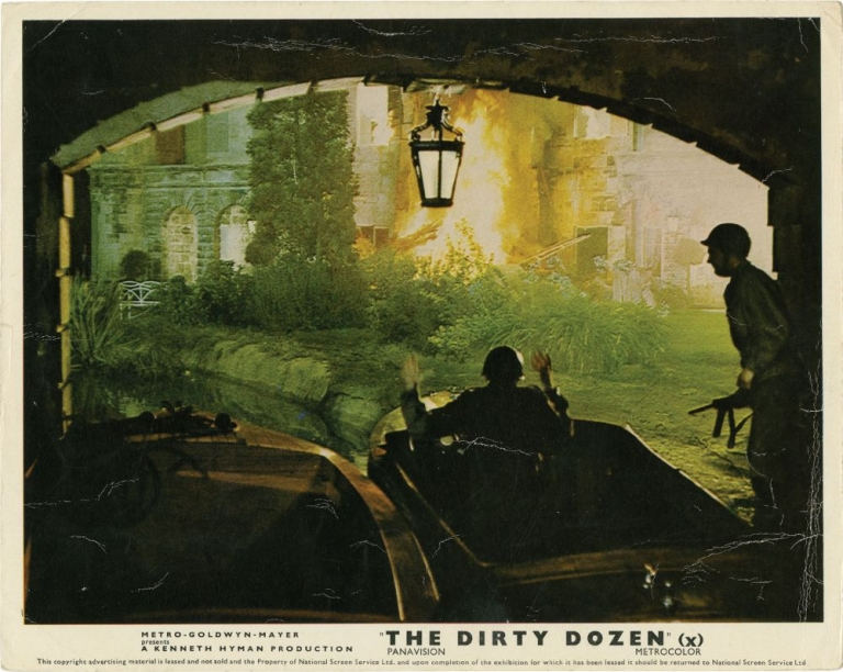 The Dirty Dozen. Robert Aldrich, E M. Nathanson, Nunnally Johnson, Lukas Heller, Ernest Borgnine Lee Marvin, Jim Brown, Charles Bronson, director, novel, screenwriters, starring.