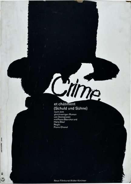 Crime et chatiment [Crime and Punishment] [Schuld und Suhne]. Pierre Chenal, Fyodor Dostoevsky, Christian Stengel Marcel Ayme, Vladimir Strizhevsky, Pierre Blanchar Harry Baur, Madeleine Ozeray, screenwriter director, novel, screenwriters, starring.