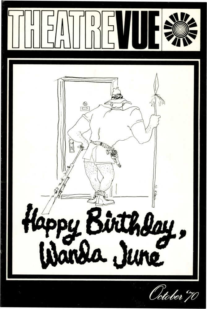 Happy Birthday, Wanda June. Kurt Vonnegut, playwright, Bert Andrews.