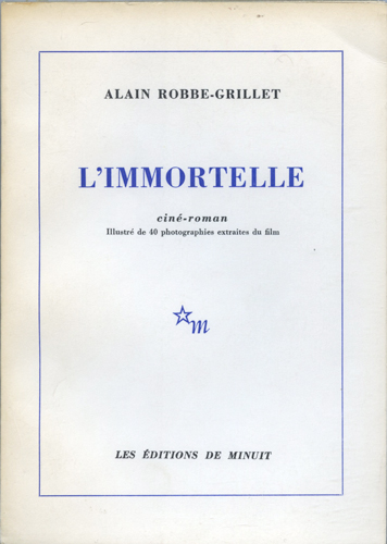 L'Immortelle. Alain Robbe-Grillet.