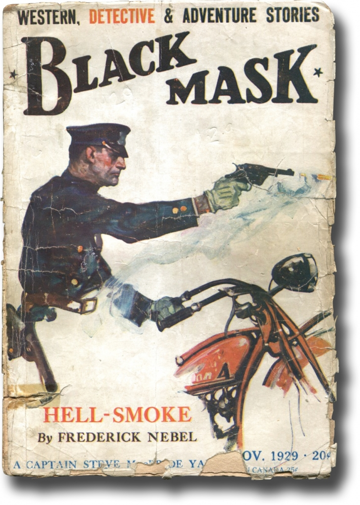 """The Maltese Falcon"": The third of five parts in Black Mask, November 1929. Dashiell Hammett."